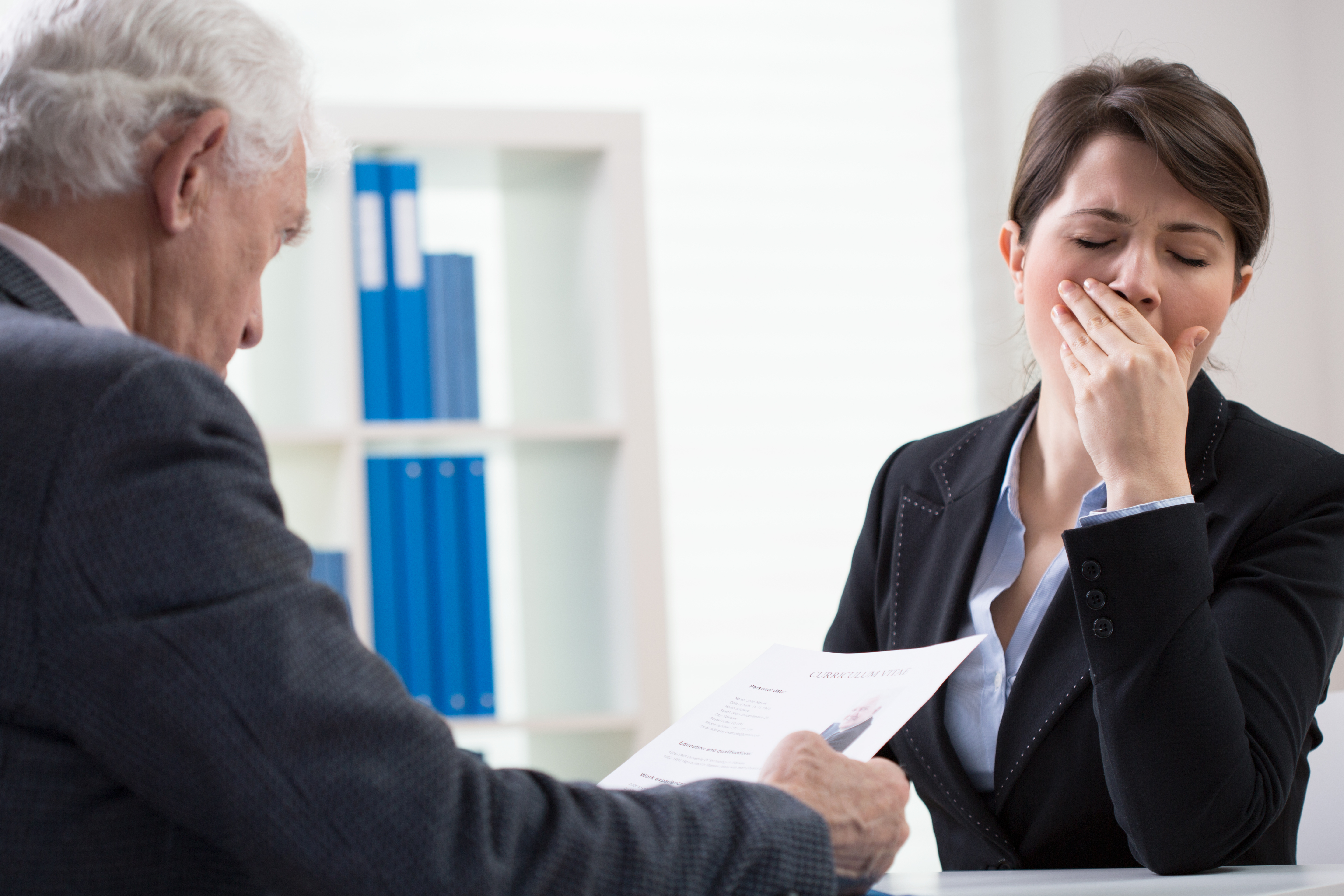 How to Bomb your First Interview - Mary Kraft Staffing and HR ...